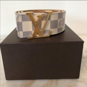 Louis Vuitton Azur Belt
